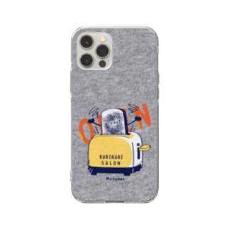 CT144 カリカリサロンA*スマホケース用 Soft clear smartphone cases