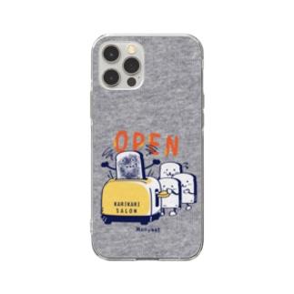 CT144 カリカリサロンGA*スマホケース用 Soft clear smartphone cases