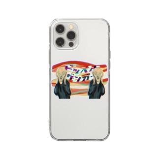 すとろべりーガムFactoryのドッペルゲンガー Soft clear smartphone cases