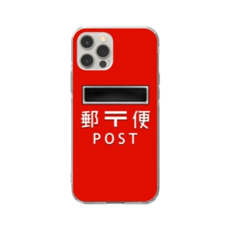 郵便ポスト スマホケース Soft Clear Smartphone Case