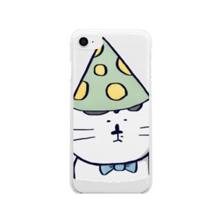 パリピ Soft clear smartphone cases
