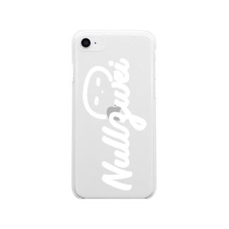 透き通った心のくらげ Soft clear smartphone cases