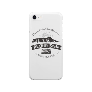 HONOLULU VOLCANO Soft clear smartphone cases