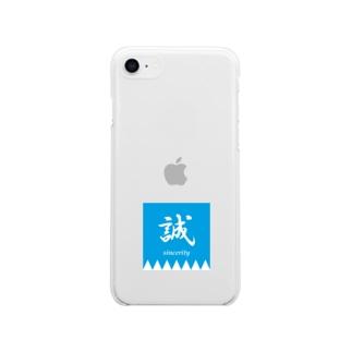 Makotoのしるし Soft clear smartphone cases