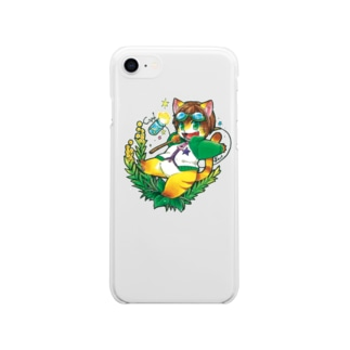 カフ・クリアケース Soft clear smartphone cases