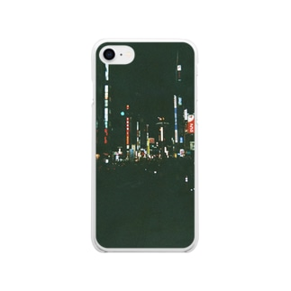 SMCのcity Soft Clear Smartphone Case