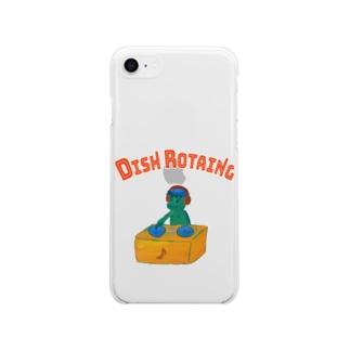 皿回師 スマホ Soft clear smartphone cases