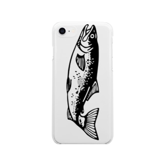 SAKE/鮭 no.1 Soft clear smartphone cases