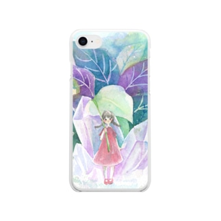 Stara Plant Soft clear smartphone cases