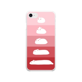 S-L-BUNNY Soft clear smartphone cases