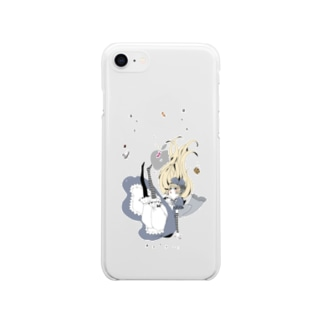 candy drop Soft clear smartphone cases