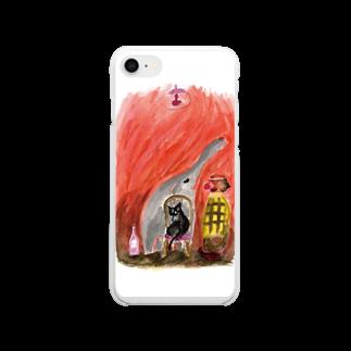nelcoのピエロ Soft clear smartphone cases