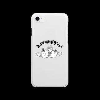 歯のマンガのつらいけどサンバ Soft clear smartphone cases