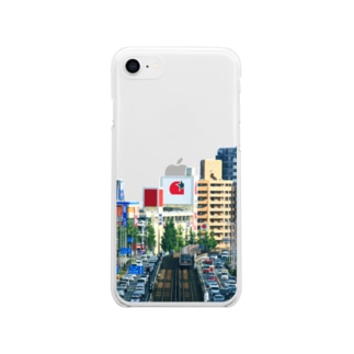 いい街並みのiPhoneケース(C) Soft clear smartphone cases