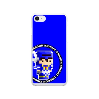 New_ドラゴンナイト Soft clear smartphone cases