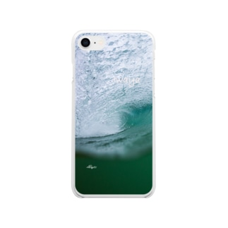 IWAYA ONE DAY WAVE No2 Soft clear smartphone cases
