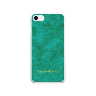 PEACE OF MIND Soft clear smartphone cases