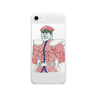 サイコパワー大原 Soft clear smartphone cases