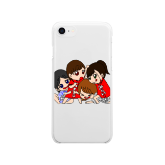 miccolo3のわちゃわちゃ Soft clear smartphone cases