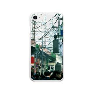 いい街並みのiPhoneケース(E) Soft clear smartphone cases