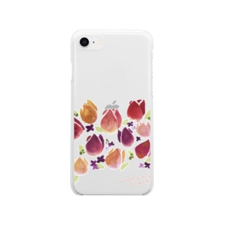 momohana batake Soft clear smartphone cases