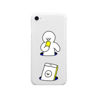 あな Soft clear smartphone cases