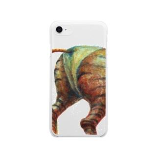 少女変容-14 Soft clear smartphone cases