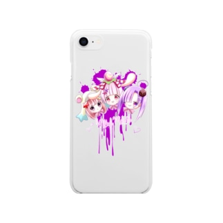 Milky Melodies Soft clear smartphone cases