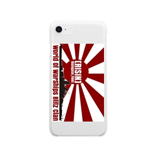 RISIN艦隊 Soft clear smartphone cases
