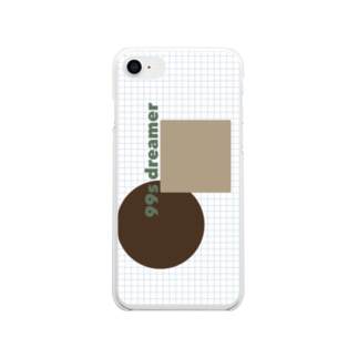 99s dreamer 縦ver Soft clear smartphone cases