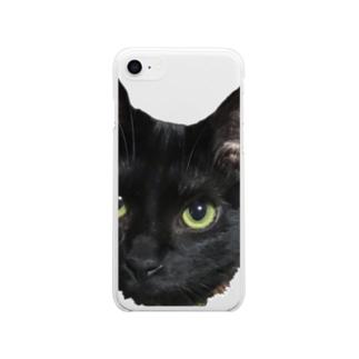 おすましぶりこ Soft clear smartphone cases