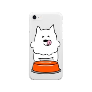 ぺろりんるびちゃん Soft clear smartphone cases