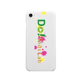 Do! Kids Lab公式 キッズプログラマー iPhoneケース Soft clear smartphone cases