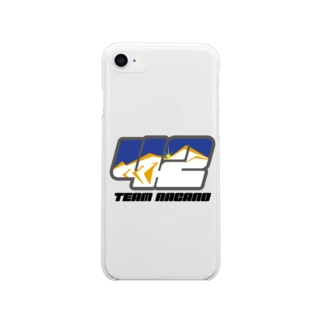 ゼッケンロゴ Soft clear smartphone cases