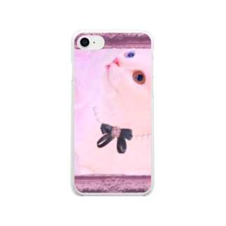 Actress Cat Soft clear smartphone cases