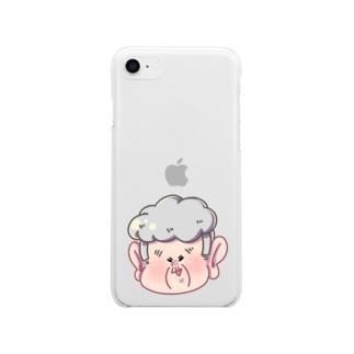 ハルエさん2 Soft clear smartphone cases