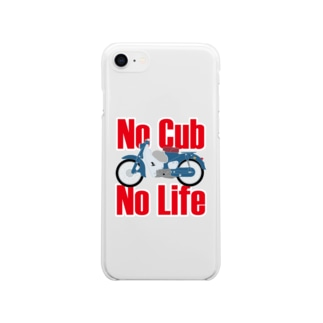 No Cub No Life Soft clear smartphone cases
