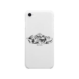 魔女のモーテルのラムズ・モーテル Soft clear smartphone cases