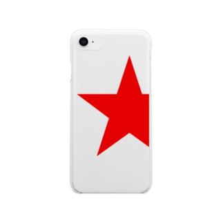 一番星 Soft clear smartphone cases