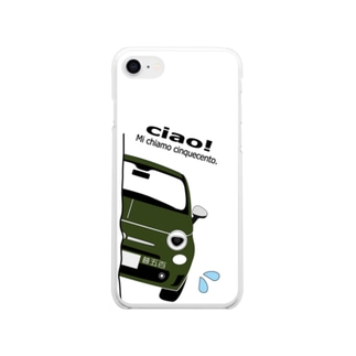 MYひょっこりちん ボレロスペチアーレ iphone7 Soft clear smartphone cases