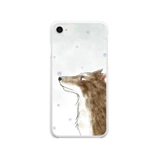 冬狼 Soft clear smartphone cases