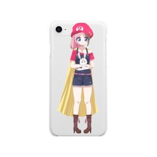 テレみiPhoneケース Soft clear smartphone cases