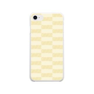 新雪 Soft clear smartphone cases