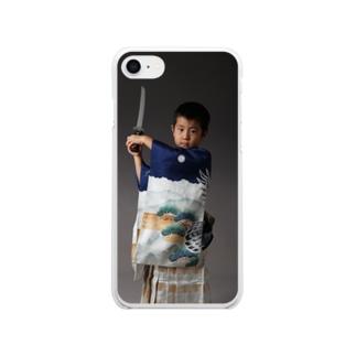 年金定期便の753a Soft clear smartphone cases