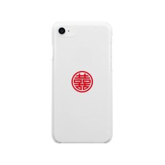 双喜紋 Soft clear smartphone cases