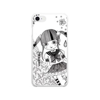 sachi☆chocoのとくべつ強くなりたい! Soft clear smartphone cases