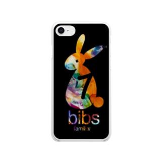 bibs familiar_スマホケース Soft clear smartphone cases