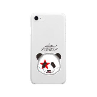 メタルヘッドパンダ Soft clear smartphone cases