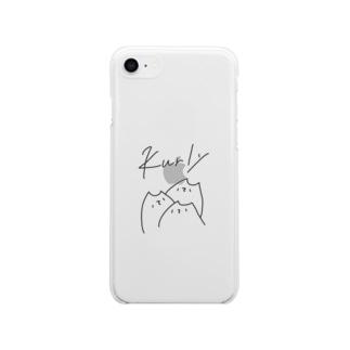 カーリー2021 Soft Clear Smartphone Case