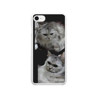 ノタ Soft clear smartphone cases